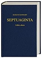 Septuaginta-2nd Revised Edition (Greek Edition) by Alfred Rahlfs(2006-06-01)