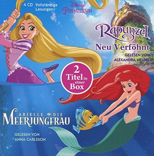 Disney Prinzessin: Arielle, die Meerjungfrau und Rapunzel - Neu verföhnt: 2 Titel in einer Box (Disney Prinzessinnen, Band 1)
