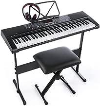 Joymusic 61key Standard Keys USB Music Player,Including Headphone,Stand,Stool & Power Supply-The Electronic Keyboards with The Joy trademarks are on Sale Randomly (Jk-63M-Kit)