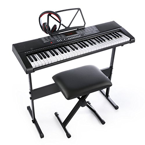 Joy 61-Key Standard Electronic Keyboard...