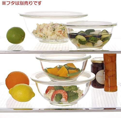 iwaki(イワキ)耐熱ガラスボウル丸型外径25cm2.5LKBC325