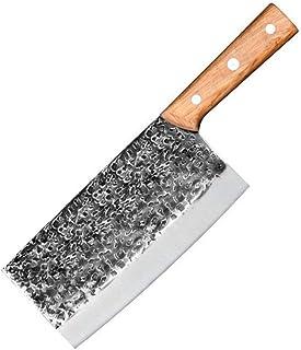 Fait à la main Forged Couteau de cuisine Couteaux de cuisine chinoise 7Cr17mov Forged couteau de cuisine en acier inoxydab...