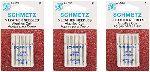 Find Bargain Schmetz Leather Machine Needle Size 18/110 (3 Pack)