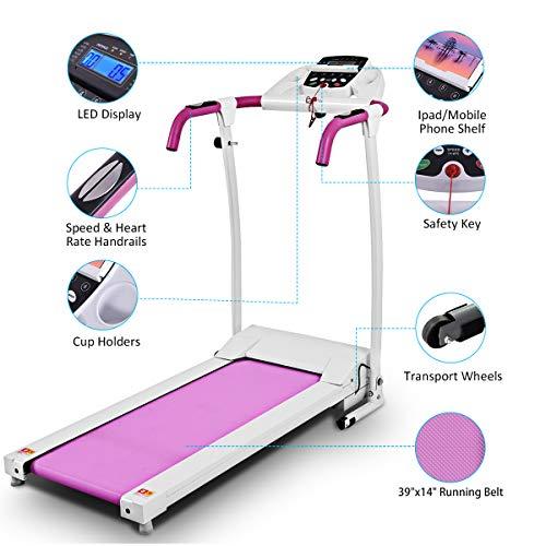 Goplus 800W Folding Treadmill