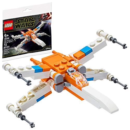 Disney Lego Star Wars Poe Dameron's X-Wing Fighter 30386