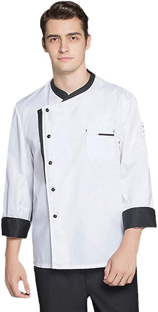 Nanxson Unisex Chef Jacket Men's Chef Coat Restaurant Kitchen Chef Uniform CFM0016