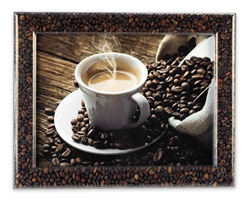 Tube Frame Dekorahmen 21 X 29,7cm Kaffee (Din a 4) [Import]