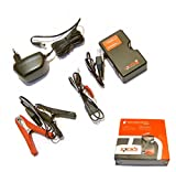 BATTERIE ERHALTUNGS LADEGERÄT * 12 VOLT für Blei- und Gel Batterien 4-100 AH * inkl. Montage Set z.B.für Baumarkt -