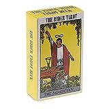 LHJY Rider Tarot Cards, Deck Board Game Cards, con PDF Guidebook Portable, para Entretenimiento En Fiestas Familiares (2 Cajas)