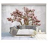 Simple Fleur Treehome Décoration Fond d'écran 3D Murale Hd Affichage Chambre Salon...