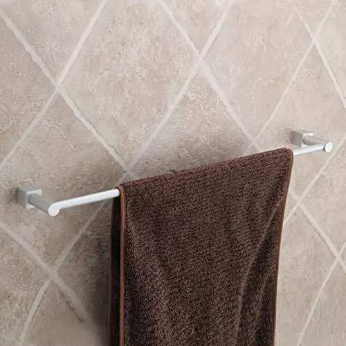 llsdls Barra de Toalla de Toalla de Aluminio, towelhanger, bathtowelrack, wallmount -a (Color : A)