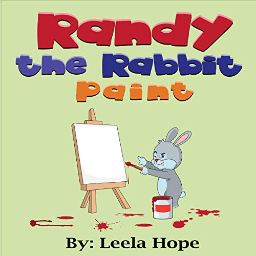 Randy the Rabbit Paints  By  cover art
