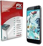atFolix Schutzfolie kompatibel mit Phicomm Energy 3 Plus Folie, ultraklare & Flexible FX Bildschirmschutzfolie (3X)