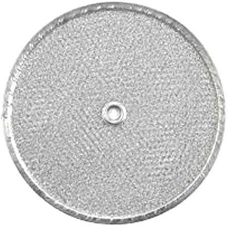 AF Flat Round Range Hood Filter; 11-1/2 diameter; with center ho