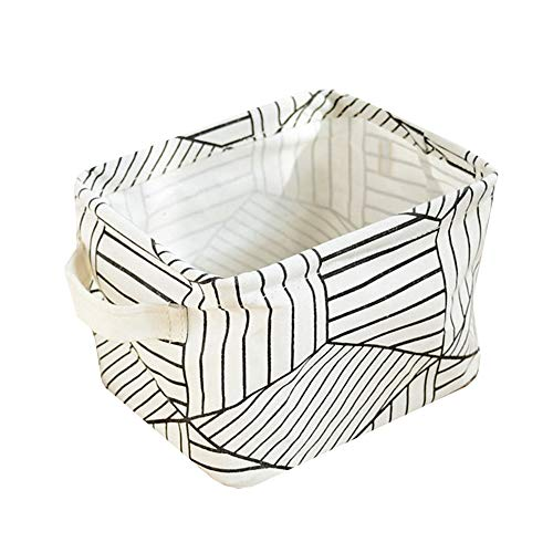 hongyupu aufbewahrungsbox für Kinder aufbewahrungskorb quadratische Lagerkörbe Kleiner Korb Aufbewahrungskörbe für Schränke Körbe zur Aufbewahrung White