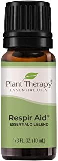 Plant Therapy Synergy Essential Oil - Respir Aid for Unisex - 0.33 oz Essential Oil