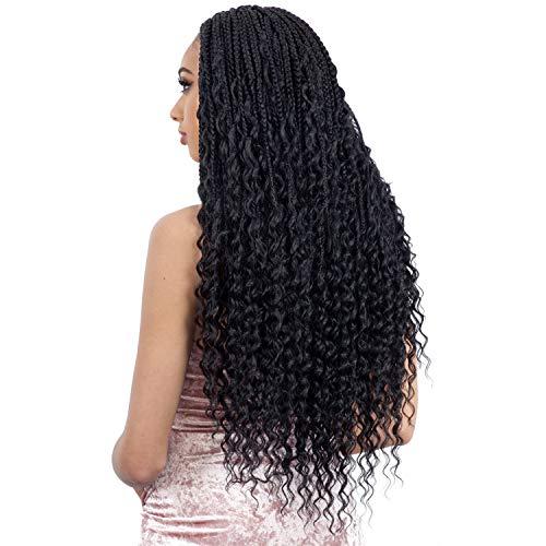 6 PACKS/LOT FreeTress Synthetic Hair Crochet Braids Boho Hippie Braid...
