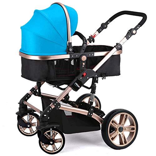 Affordable STRR Baby Stroller Carriage Compact Pram Stroller (Color : Purple)