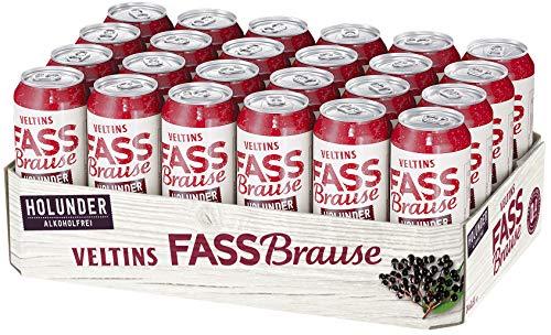 VELTINS Fassbrause Holunder, EINWEG (24...