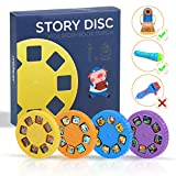 Story Disc 4 Fairy Tales Movies 32 Diapositive per Story Projection Torch Story Sostituzio...