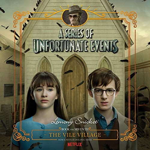 The Vile Village audiobook cover art