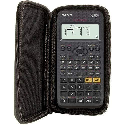 Beschermtas compatibel met rekenmachine van Casio FX-82 SP X II