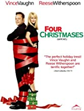 Four Christmases POSTER Movie (2008) Canadian Style A 27 x 40 Inches - 69cm x 102cm (Reese Witherspoon)(Vince Vaughn)(Robert Duvall)(Mary Steenburgen)(Jon Favreau)(Kristin Chenoweth)(Dwight Yoakam)
