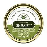 Authentic Shilajit - Echtes Shilajit aus dem Himalaja - natürliches, reines u. hochwirksames Harz - Ayurvedisches Heilmittel - 10g (reicht für 4-6 Wochen) - von Lotus Blooming Herbs -