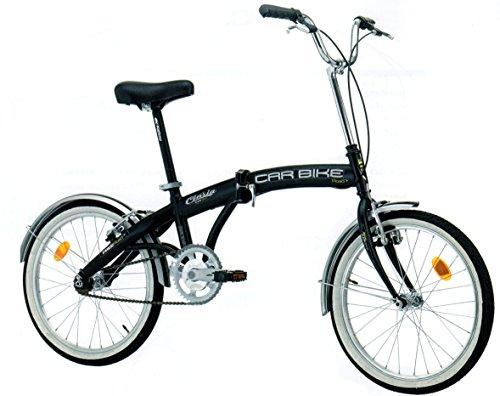 Polironeshop Cinzia - Bicicleta plegable, hecha en Italia, transportable, plegable para transporte en coche, autobús, caravanas, transporte público, barco, yate