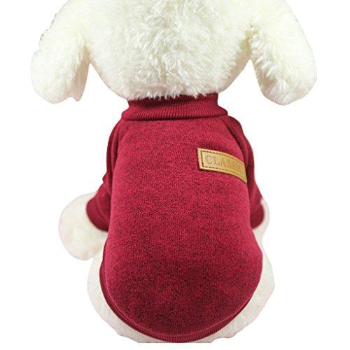 CHBORLESS Pet Dog Classic Knitwear Sweater Warm...