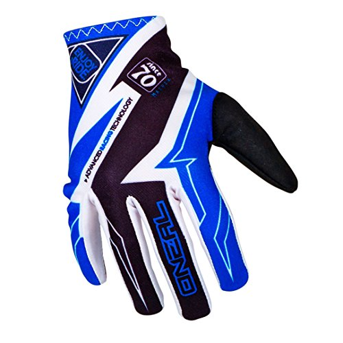 O'Neal Matrix MX Handschuhe RACEWEAR Schwarz Blau Motocross Enduro Offroad, 0388R-6, Größe 2XL