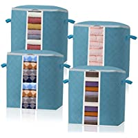 4-Pack Baseshop Foldable Storage Bag Organizer Containers
