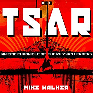 Tsar audiobook cover art