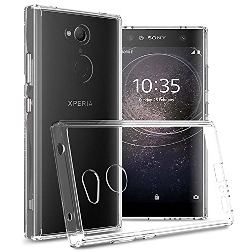 CoverON Hard Slim Fit ClearGuard Series for Sony Xperia L2 Case, Clear