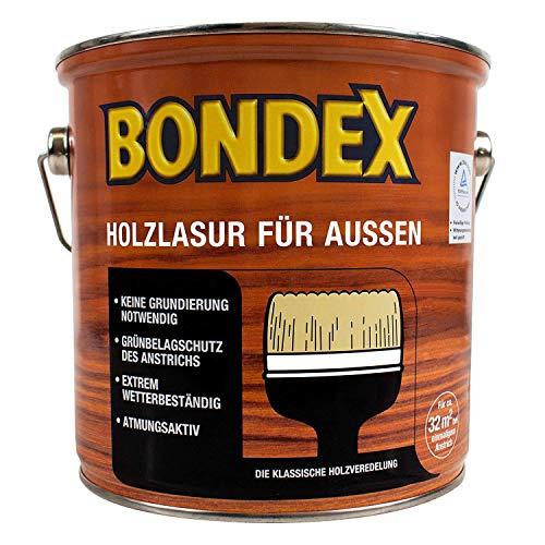 Bondex Holzlasur für Aussen ebenholz 4L