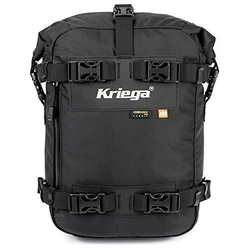 Kriega Hecktasche Motorrad Motorradtasche Aufsatz-/Hecktasche/Tankrucksack US-10 Drypack wasserdicht, Unisex, Multipurpose, Ganzjährig, Nylon, schwarz