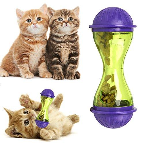 espeedy gato perro Feeder plástico divertido Pet Food Dispenser erbissen Ball Cachorros de fuga leckage Alimentos juguete