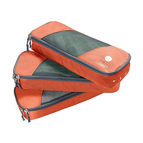 EEZEE Leichte Kleidung Organizer & Storage-System, Reisetasche oder Wäschesack für Strand, Camping, Reisen & Urlaub mit Doppel-Ripstop PU-Beschichtung 3er Set (klein)