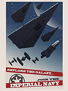star wars imperial poster