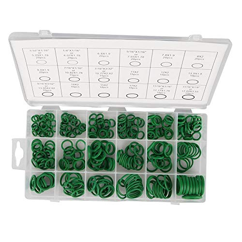 End Connector for Irrigation Garden Hose 270Pcs/279Pcs Seal O-Ring Assortment Kit NBR Rubber Washer Gaskets Different Sizes with Plastic Box NBR Rubber Seal Rings (Color : 270 pcs/Set)