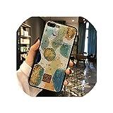 キラキラゴールド大理石ケースfor iphone X XSマックスXR 7ソフトTPU花崗岩ジオメトリカバーfor iphone 7 8 6 6 sプラスカバー電話ケース,for iphone X,9