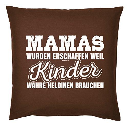 Art & Detail Shirt Coussin : Maman Fête des Mères – Mamas wurden erschaffen weil Enfant Wahre heldinen brauchen – Comme Cadeau