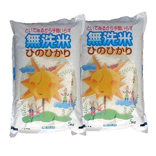 令和元年産 白米 宮崎産 無洗米 ヒノヒカリ 5キロ×2袋(10キロ)