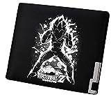 WANHONGYUE Dragon Ball Anime Portefeuille Mince Homme Cuir Synthétique Porte Carte Crédit Poche à Monnaie Noir /7