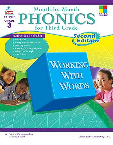 Month-by-Month Phonics for Third Grade