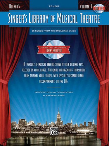 Singer\'s Library of Musical Theatre, Vol 1: Tenor Voice, Book & 2 CDs