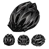 Roguoo Adult Bike Helmet, CPSC Certificated Bicycle Helmet with Lightweight Honeycomb Ventilation Design Safety Protection Bike Helmet for Men and Women
