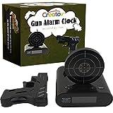 Digitaler Wecker mit Pistole & Zielscheibe - Creatov Digital Creative Alarm Clock Wecker ohne Ticken...