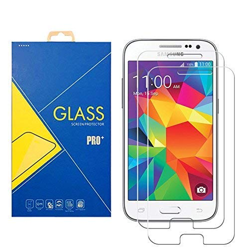 2 protectores de cristal templado para Samsung Galaxy Core Prime SM-G360 /...
