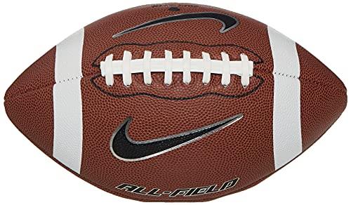 Bola de Futebol Americano All Field 3.0 FB 9 Official Nike Único Brown/White/Metallic Silver/Black